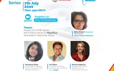 AFN-MAFH webinar: Impact of COVID-19 on FinTech in Mauritius & implications for Africa