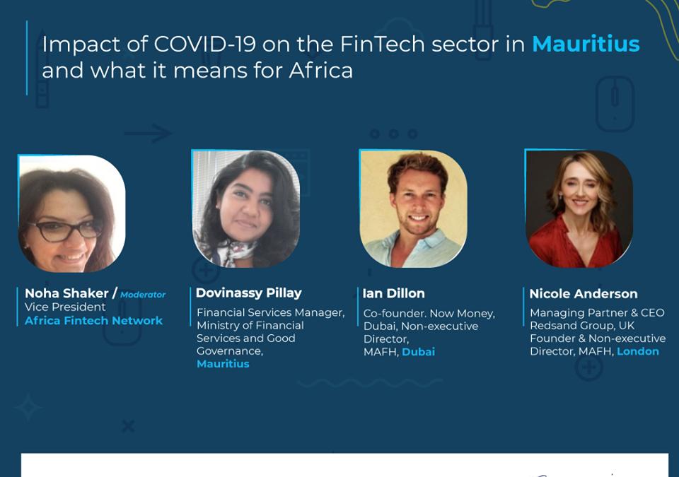 afn mafh webinar - impact of covid on fintech africa