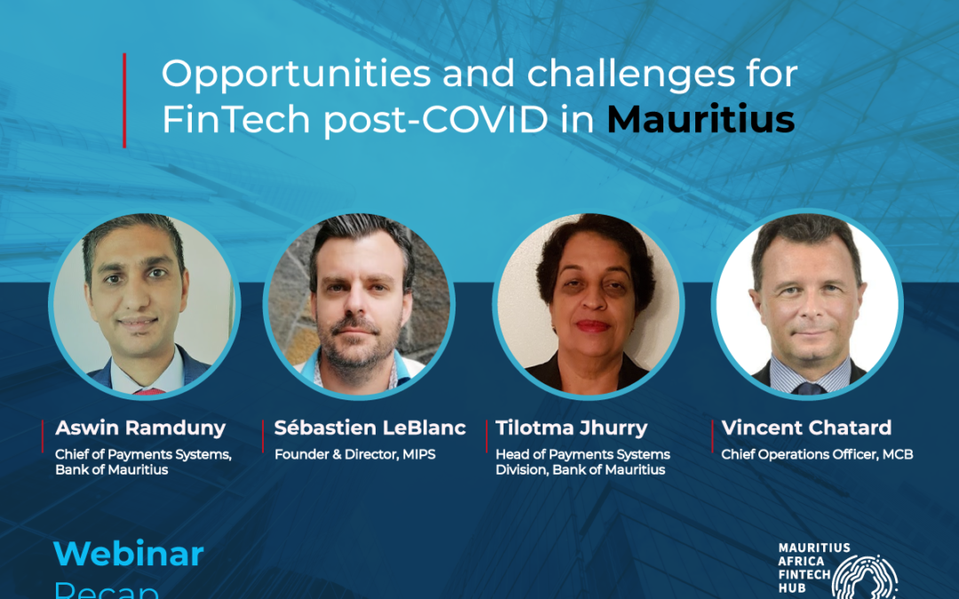 The future of digital payments in post-COVID Mauritius