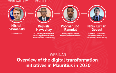 MAFH webinar: Overview of the digital transformation initiatives in Mauritius in 2020