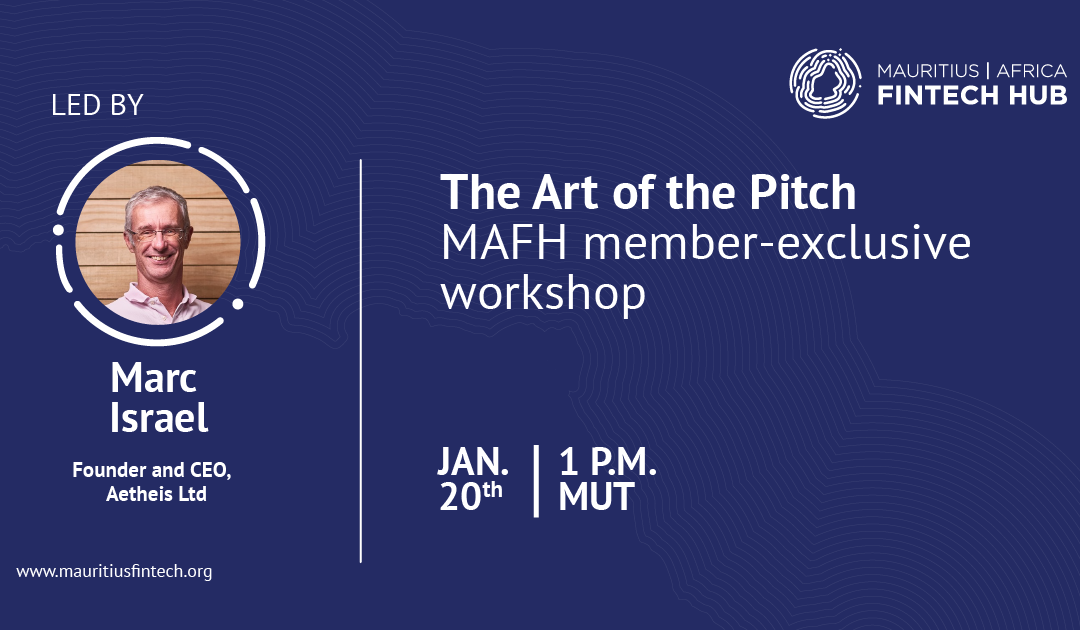 The Art of the Pitch [MAFH member-exclusive]