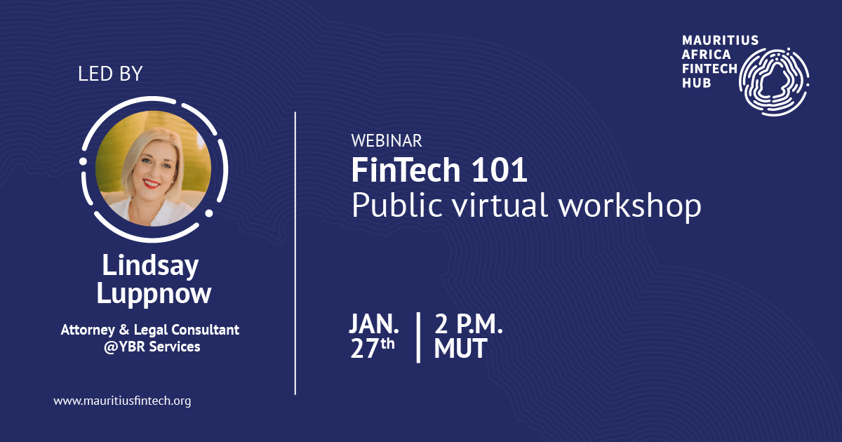 fintech 101 - virtual workshop