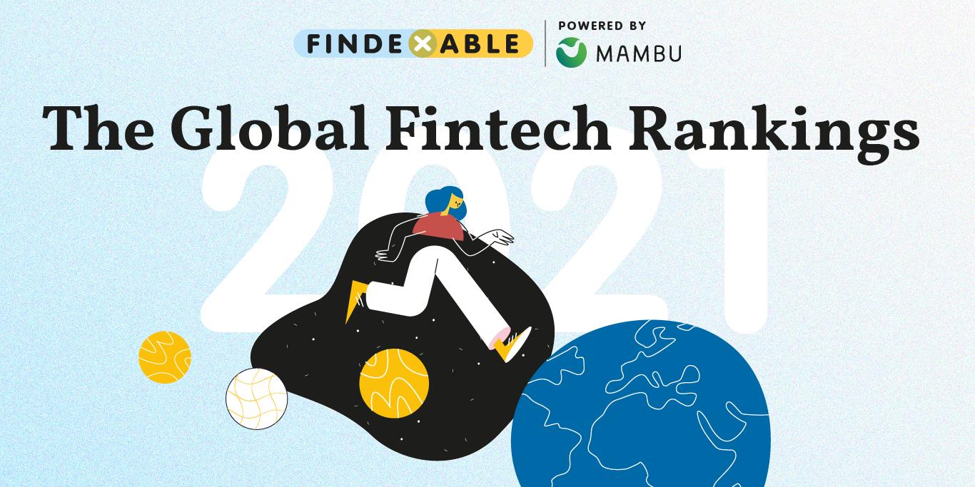 global fintech rankings 2021